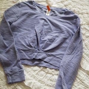 Lucy crop top activewear xs